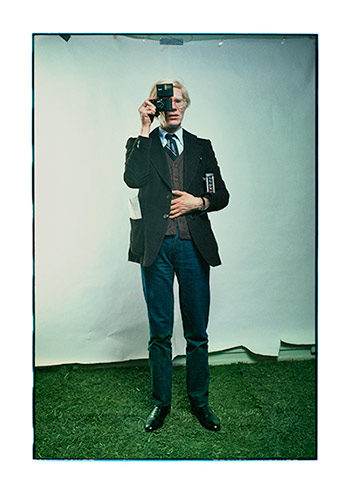 Annie Leibovitz Andy Warhol, New York City, 1976 archival pigment print, 30.5 x 21.5 inches Photograph © Annie Leibovitz