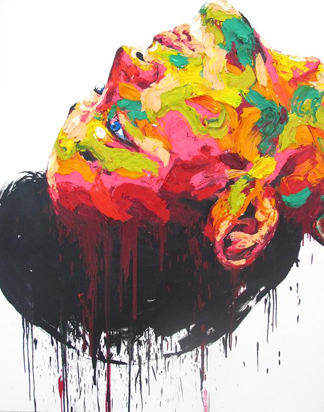 Shin Kwang Ho, Untitled, 2014, oil on canvas, 193.9 x 144 cm