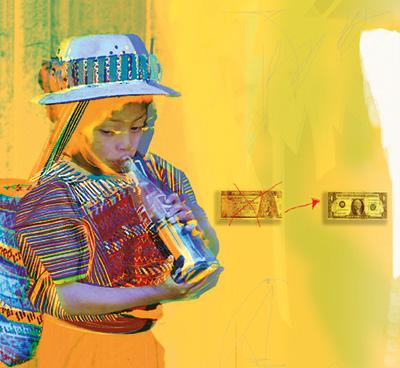 COKE, Guatemala Photo: Katherine Cobley, Collage: Irene Marx