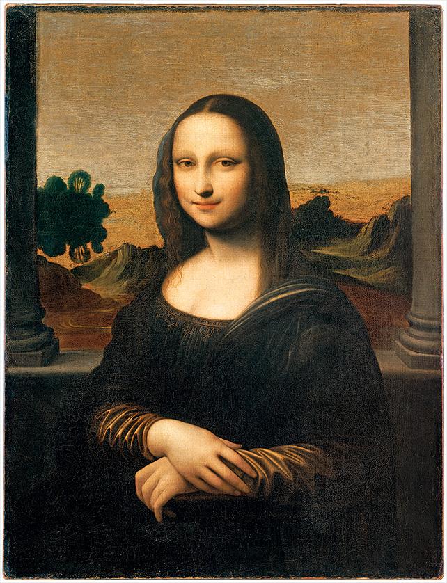 'Earlier Mona Lisa' by Leonardo da Vinci, 1503 – 1506, 64.5 cm x 86 cm Photo Credits: The Mona Lisa Foundation