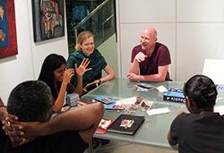 SAGG team meeting