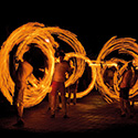 Fire Dancers at Lalin Gallery