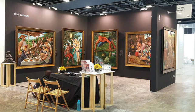 The Art Fellas sold all presented works by Dadi Setiyadi at Singapore Art Fair