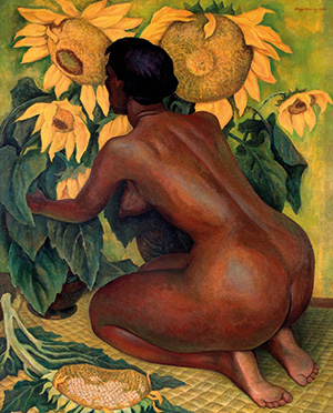Diego Rivera, Sunflowers, 1921