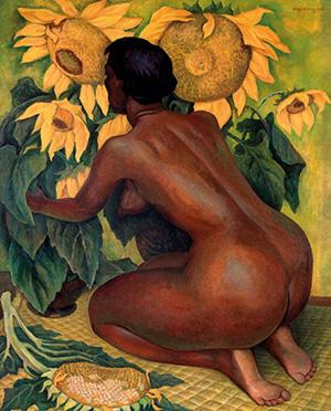 Diego Rivera, Sunflowers, 1921