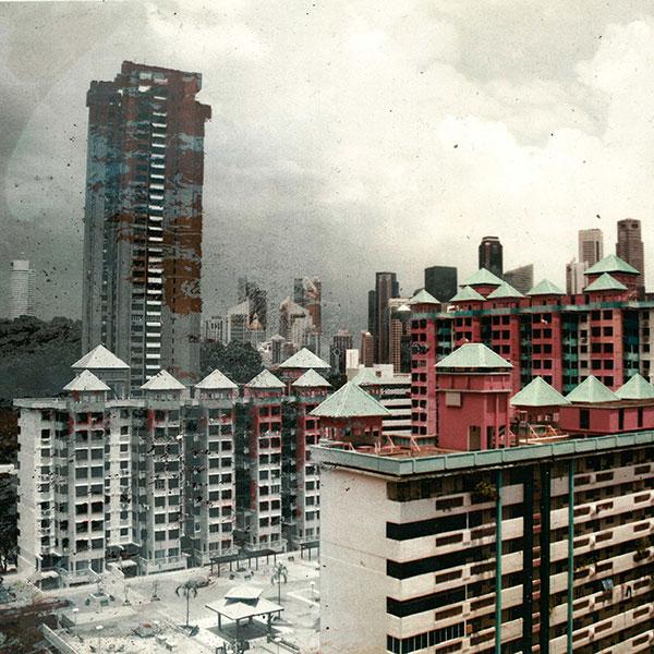Sufian Samsiyar, dystopian urbanity
