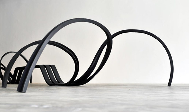 Pablo Reinoso, Spider Bench, 2011, painted Steel, 577 x 220 x 95 cm,Edition of 8 + 4AP