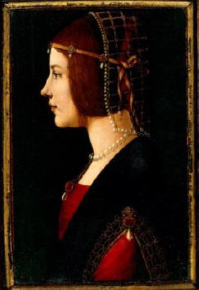 Portrait of a Lady (Circa 1490) © Veneranda Biblioteca Ambrosiana, Milan