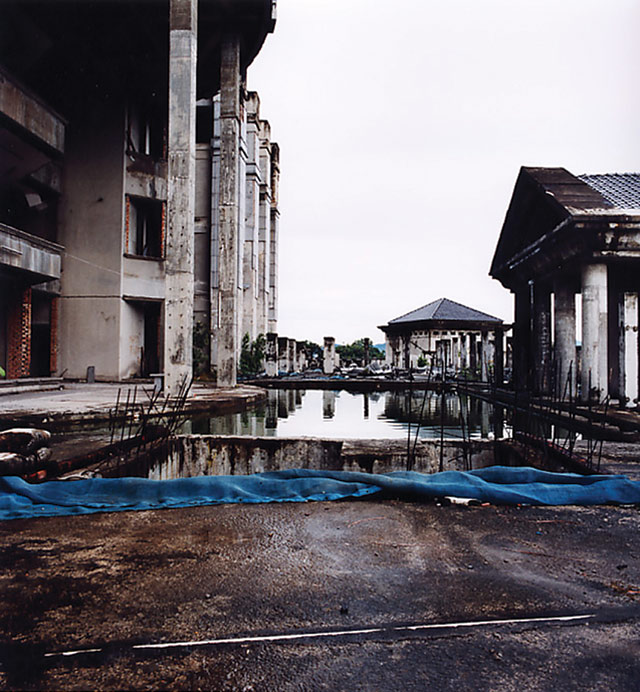 Simryn Gill, photograph from Standing Still (2000 - 03). Courtesy of the artist.