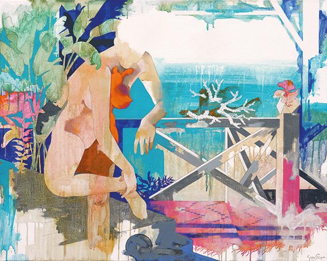 Yeo Siak Goon, Break Corals, 2012, 80 x 100 cm