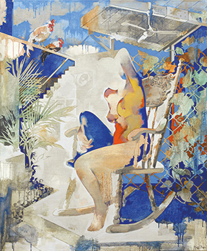 Yeo Siak Goon, The Rocking Chair, 2012, 120 x 100 cm