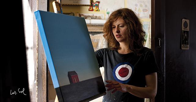 Mónica Dixon, Fairfield, 100 x 100 cm, Acrylicon canvas, 2015