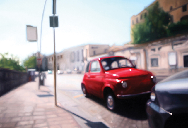 Napoli-10, 112 x 162 cm, oil on canvas, 2011