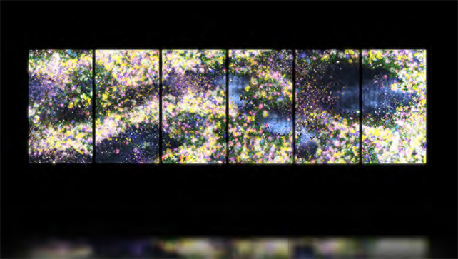 Flowers and People - Dark 2014 Interactive digital work, Dimensions variable Edition of 10 + 2 APs Courtesy of the artist