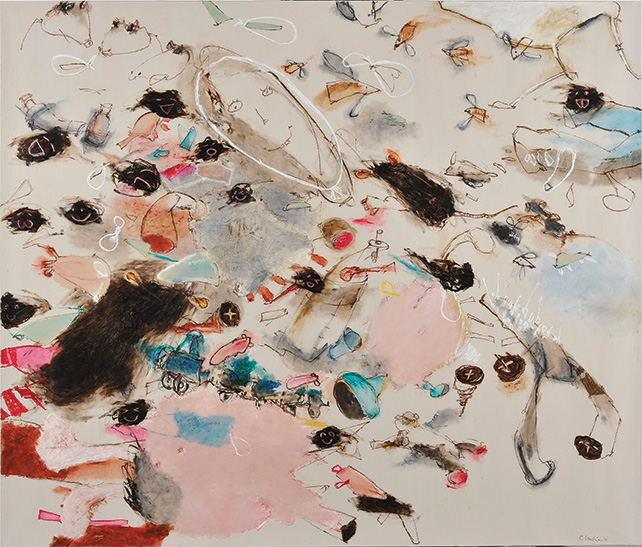 The Flying Balloon 2013 Oil on canvas 170 x 200 cm Courtesy of the artist and Ota Fine Arts