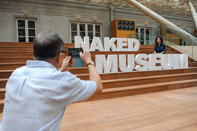 Hundreds of visitors took part in the #NakedMuseumSG Instagram contest over the weekends tours - 1