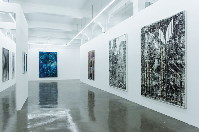 "ARNDT expanded its space at Gillman Barracks from 150 to 350 m2 last winter Installation view of ""I Know You Got Soul"", shown till 21 June 2015"