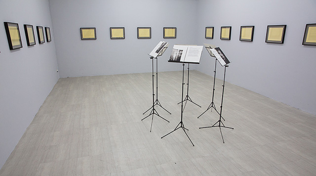 Ang Song Ming, Days, 2015, Multi-part installation: Video, photographs, drawings, text Dimensions variable, Singapore Art Museum commission, Collection of the Artist Image credit: Singapore Art Museum