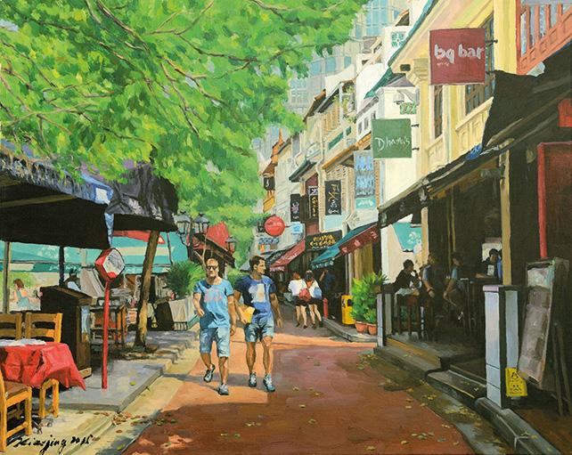 Feng Xiaojing, Boat Quay Road No. 2, 2015