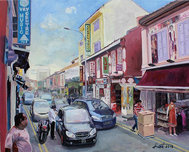 Ng Kong Ngoh (Kent), Little India, Dunlop Street, 2013