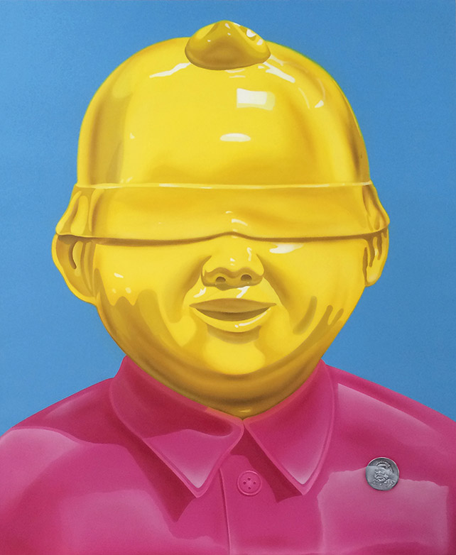 Xie Ke, A Perfectionist Acrylic on Canvas, 120 x 100 cm, 2013
