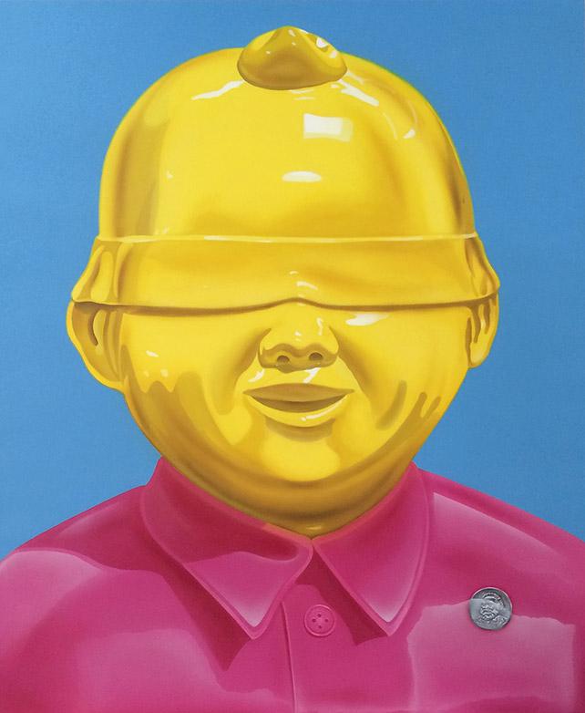 Xie Ke, A Perfectionist Acrylic on Canvas, 120 x 100 cm, 2013