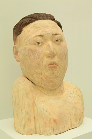 A Hope by Sun Shang, 49 x 35 x 25 cm, Acrylic on Camphor Wood, 2014