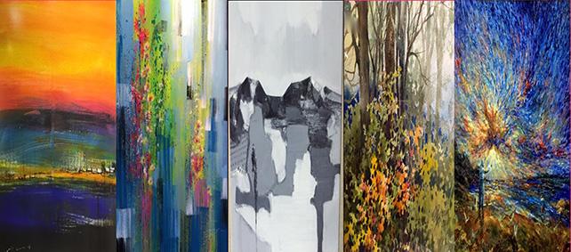 Artworks presented by Goshen Art Gallery