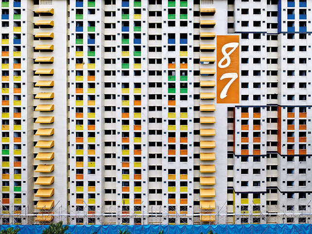 Block #87, Singapore, 2013, Peter Steinhauer, Photograph on Hahnemühle Paper