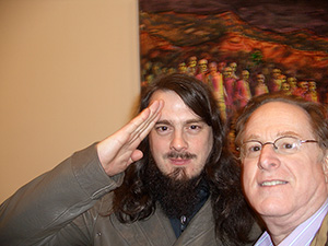 Jonathan Meese and Marc Straus