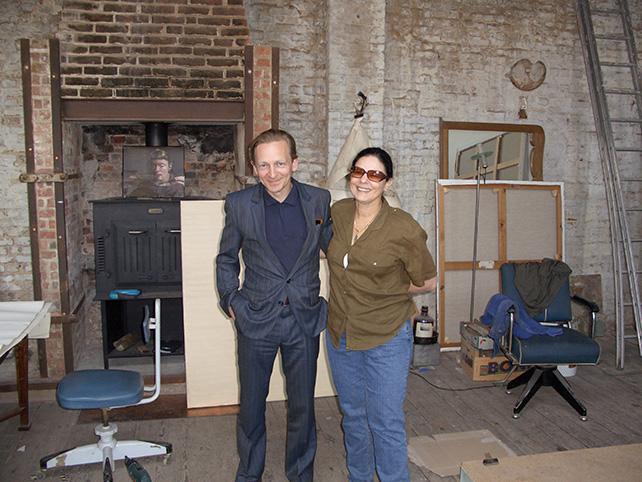 Michael Borremans & Livia Straus