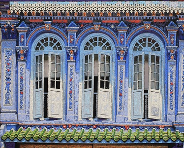 Nathalie Laoue 1903's Baroque Windows No 94 Emerald Hill Road