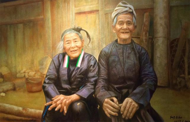Kampung Couple by Fang Li Hui