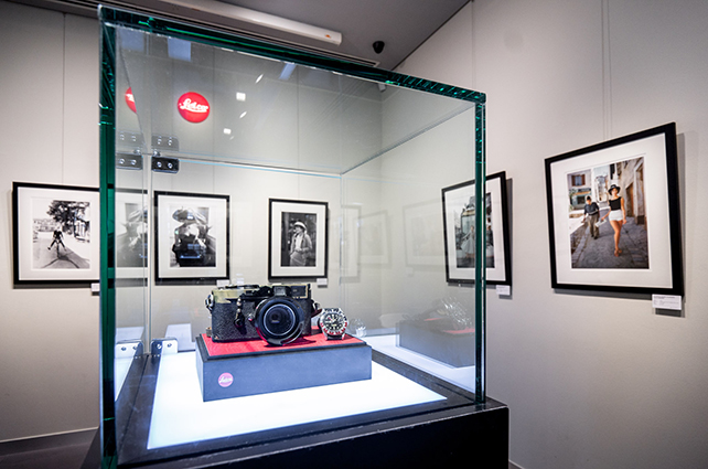 Mark Shaw's vintage Leica M2