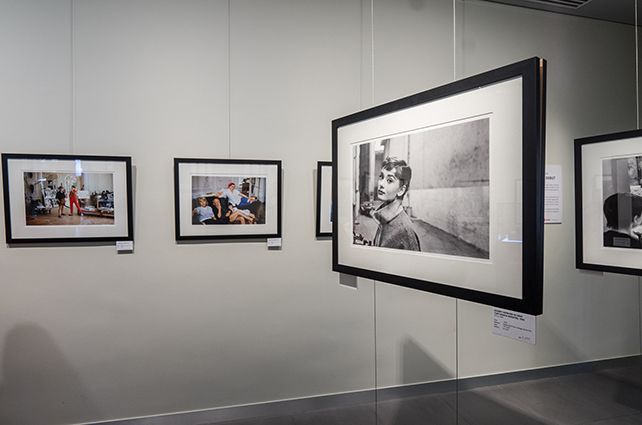 Mark Shaw's prints in Leica Galerie Singapore