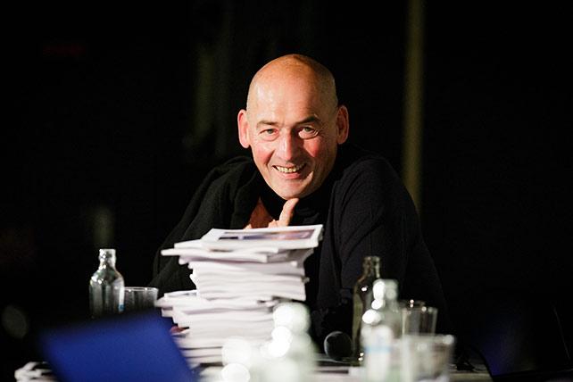 Rem Koolhaas, image credit: Fred Ernst