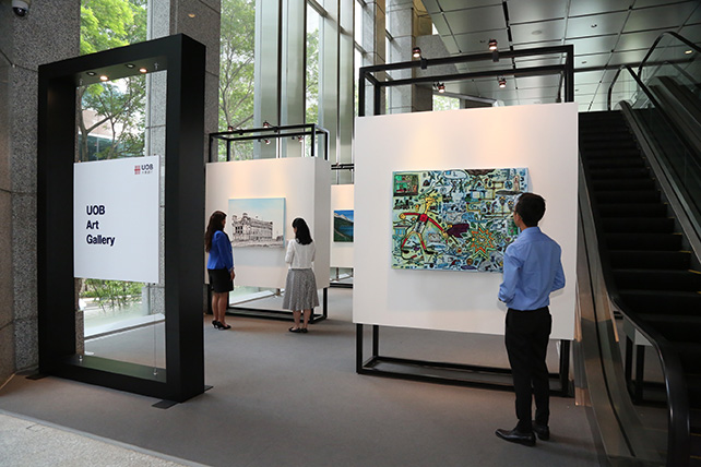 UOB Art Gallery has collaborated with Pathlight School on an exhibition showcasing the artistic abilities and unique talents of 14 artists with autism