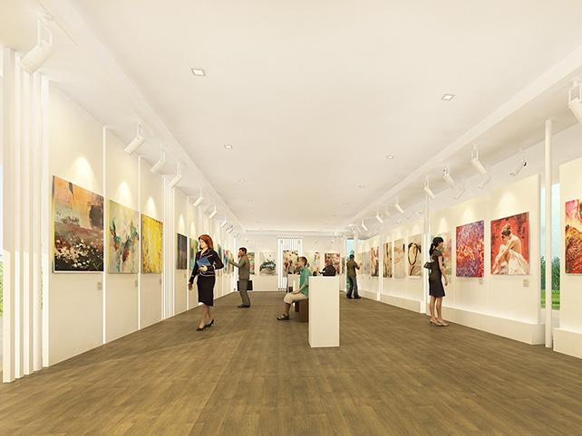 Visual Arts Centre, Exhibition Gallery