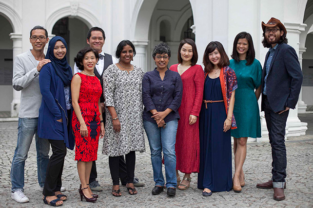Singapore Biennale 2016 Curatorial Team Members
