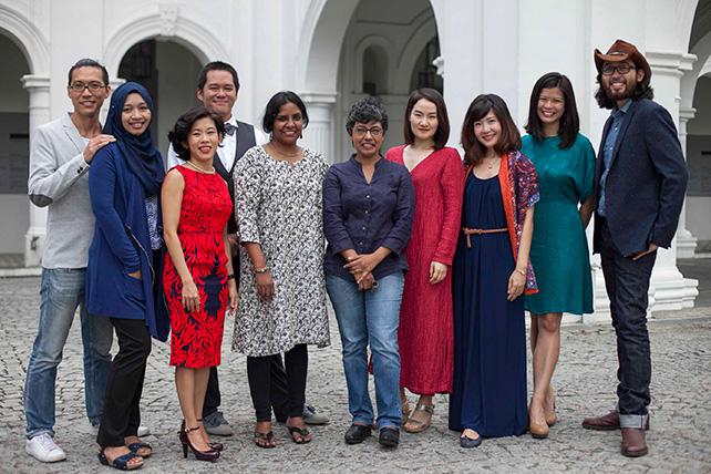 Singapore Biennale 2016 Curatorial Team Members