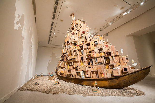 Alfredo & Isabel Aquilizan, Passage III Project Another Country, 2009, Image courtesy of SAM