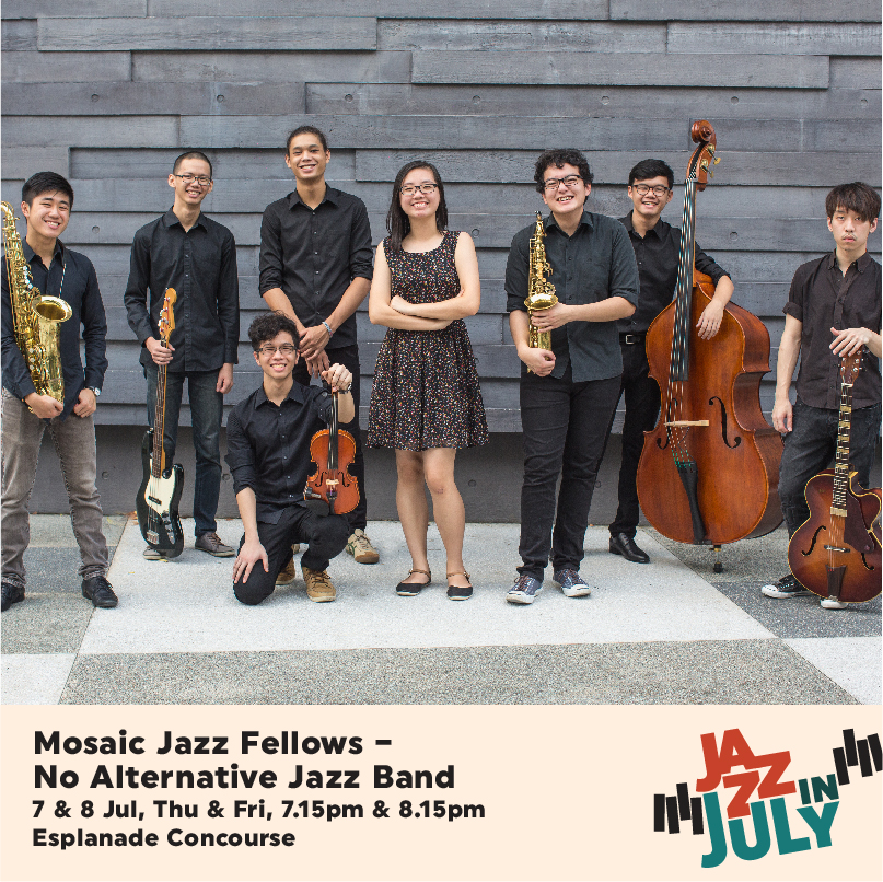Mosaic Jazz Fellows No Alternative Band Caf 21 Living Room