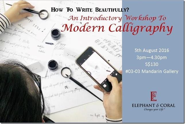 Modern calligraphy singapore art gallery guide