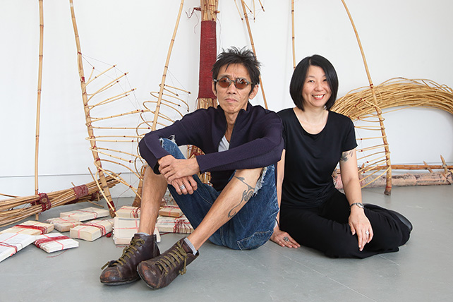 Artist Zai Kuning and Curator June Yap, Artistic team for Singapore Pavilion Venice Biennale 2017