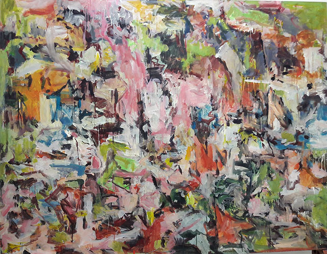 Liang-Gek Cheng, 'Samsara-The Great Rebirth' 2015 Acrylic on Canvas 170x220 cm