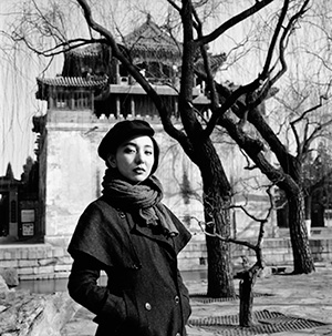 Yang Fudong, At Lake Kunming, 2014, photograph, 60 x 60cm. Courtesy the artist and ShanghART.