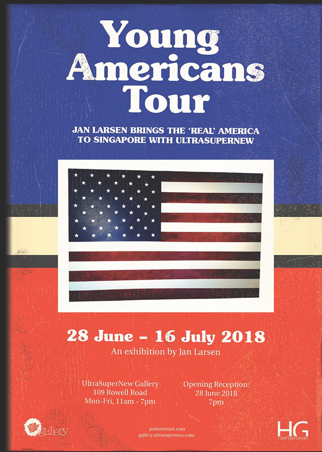 Young Americans Tour by Jan Larsen